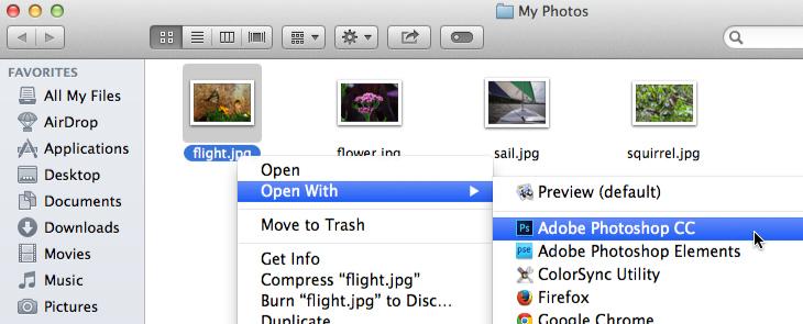 Mac OS X ekran görüntüsü
