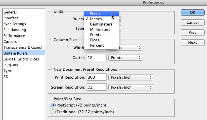 Screenshot of Adobe Photoshop CC
