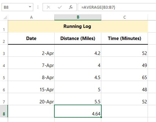 Excel Formulas: Practice Reading Formulas - Full Page