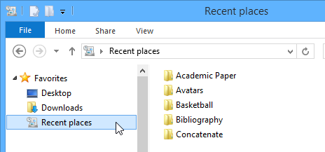 screenshot sistem operasi Windows 8