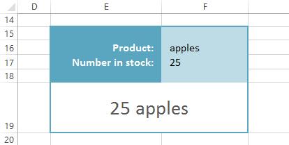 screenshot of Microsoft Excel