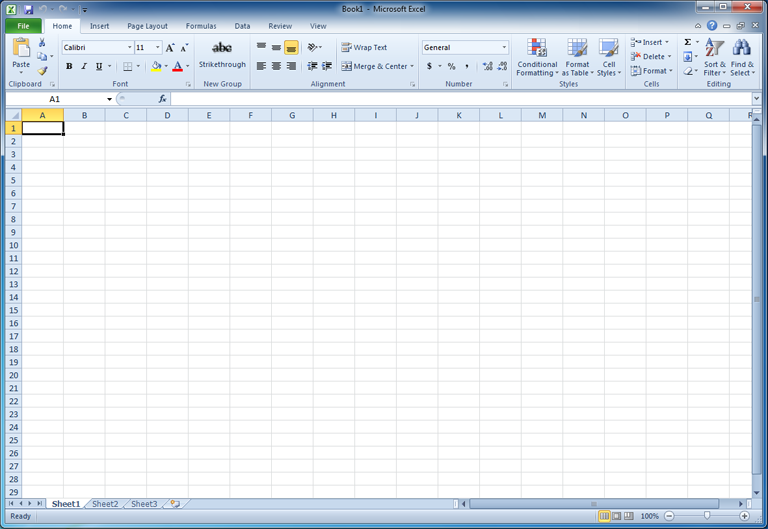 Excel 2010: Getting Started with Excel